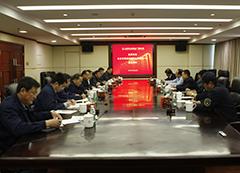 北京铁路局副局长荆世明一行到公司调研